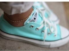 Converse Sneakers | 37 Ways To Treat Yourself With Tiffany Blue