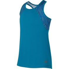 Girls 7-16 New Balance Fashion Performance Racerback Tank Top, Girl's, Size: 14, Turquoise/Blue (Turq/Aqua)