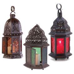 Table Lanterns Set of 3, good for back porch ?