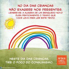 #vivapositivamente @nerdpai: Infância livre de consumismo. http://nerdpai.com/infancia-livre-de-consumismo/