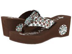 f02b8f0dc14bb4 Gypsy SOULE Porter Heel Bling Flip Flops