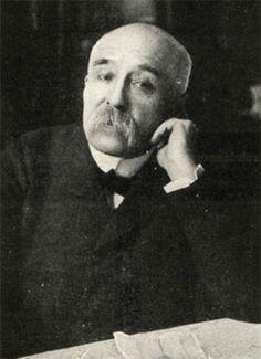 France. Georges Clemenceau (1841 - 1929) . On l'appelait «le Tigre» . Chef du mouvement radical, à l'extrême-gauche de l'échiquier politique, Clemenceau fonda le  «parti républicain radical» le 21-23 juin 1901.