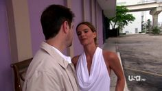 """Burn Notice 4x12 """"Guilty as Charged"""" - Fiona Glenanne (Gabrielle Anwar) & Rudy (Tommy Groth)"""