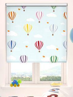 Balloons Flying High Blackout Roller Blind from Blinds 2go