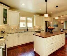French Vanilla Glaze RTA Kitchen Cabinets