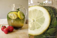 Die Raumfee: Waldmeister-Limonade // Woodruff Lemonade