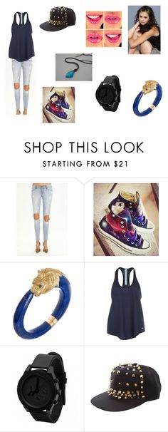 """Teen Wolf (OC)"" by justinegeib ❤ liked on Polyvore featuring Converse, Van Cleef & Arpels, Alo Yoga, 1&20 Blackbirds and H2O+"