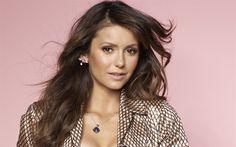 Download wallpapers Nina Dobrev, 4k, Canadian actress, fashion model, photoshoot, portrait