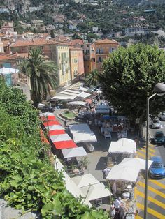 Market in Villefranche sur Mer Villefranche Sur Mer, South Of France, French Riviera, Future Travel, France Travel, Nice, Trip Planning, Provence, Travel Guide