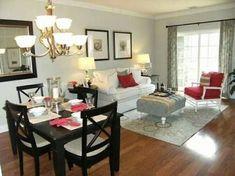 Sala Comedor Pequeños Modernos : Sala comedor en espacio pequeño en decoración living room