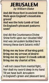 Jerusalem, my favourite Hymn