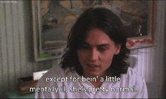 Benny & June Johnny Depp quote