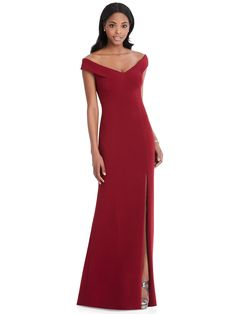 39b25b26bed6 Chic Off The Shoulder Formal Dress Style 6802. Dessy BridesmaidBridesmaid  ...