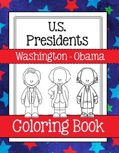 NEW DOWNLOAD AVAILABLE:  US Presidents Coloring Book (Washington - Obama) Whether you are doing a study on the presidents, on 1 president or just want a fun, time filler...Download Club members can download this coloring book @ http://www.christianhomeschoolhub.com/pt/United-States-Presidents-Teaching-Resources--Downloads/wiki.htm