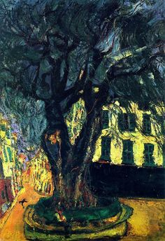 Tree of Vence, Chaim Soutine -1929.  Art Experience NYC  www.artexperiencenyc.com/social_login/?utm_source=pinterest_medium=pins_content=pinterest_pins_campaign=pinterest_initial