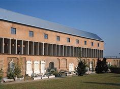 Charnel House : San Cataldo Cemetery, Moderna Italy | Aldo Rossi | PALLADIUM : Barbara Burg + Oliver Schuh