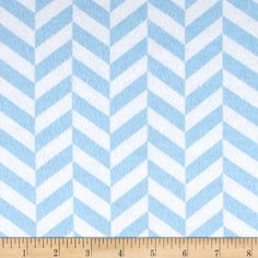 Flannel Up and Down Blue from @fabricdotcom  For David Textiles, this flannel…
