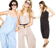 Pregnancy style - jumpsuits are perfect for showing off your bump!