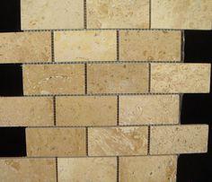 travertine+subway+tile+backsplash | Backsplash Tile Store - Subway tiles, Travertine tile backsplash