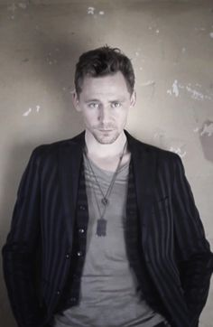 """Babe, I know you like the whole 'rustic charm' thing, but will you please let me fix the holes in our walls?"" Tom Hiddleston"