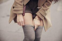 Thigh High Socks.