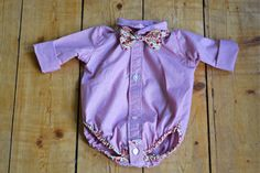 The Shirt Onesie « Thanks for this tutorial, Sew,Mama,Sew! little man will look oh so dapper :)