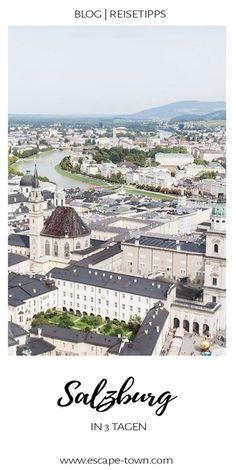 72h Guide mit Reisetipps für ein langes Wochenende   Drei Tage sind genau richtig, um die wichtigsten Sehenswürdigkeiten in Salzburg zu sehen, sich von Salzburger Nockerl bis Augustiner Bier durchzukosten und auf mindestens einen der vielen Stadtberge zu steigen. Inkl. Hoteltipps für Design & Budget.