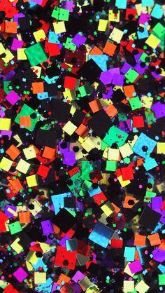 iPhone Wallpaper - Confetti  tjn