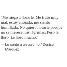 #DenisseMárquez   Le Conté A Un Pajarito