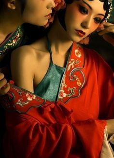 Photography - Chinese style sexy - Chinese opera