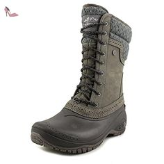 The North Face Shellista II Mid Femmes US 7 Gris Botte de Neige -  Chaussures the