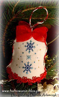 Christmas ornament www.danihaft.blogspot.com