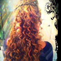I did bridgettes hair for sweet 16