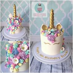 unicorn cake from Unicorne Cake, Cupcake Cakes, Raspberry Smoothie, Apple Smoothies, Indian Cake, Zucchini Cake, Salty Cake, Unicorn Birthday Parties, 5th Birthday