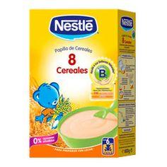 NESTLE Papilla 8 Cereales 600g.