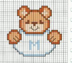Small Cross Stitch, Cross Stitch Baby, Cross Stitch Designs, Cross Stitch Patterns, Crochet Curtain Pattern, Crochet Curtains, Knitting Charts, Baby Knitting Patterns, Cross Stitching