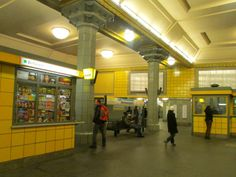 ღღ U-Bahn Station Hermannplatz Berlin , Germany