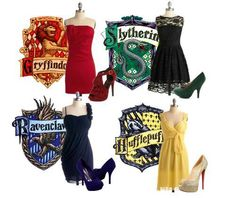 Ravenclaw dress and shoes, please?