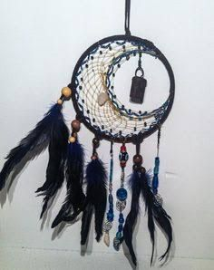 Image result for make cool moon dream catcher