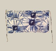 """Japan  Taisho to early Showa (1912-1940)  Underwear as art ? Soft cotton cloth patterned with the shibori technique. Very good condition. 32"""" x 17"""""""
