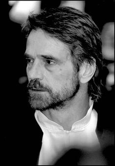 Jeremy Irons.  The questionable seeker of truth in my Fey story.