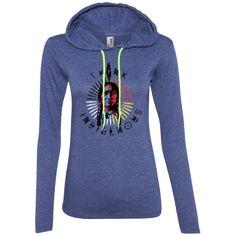 Think Indigenous_Ladies LS T-Shirt Hoodie