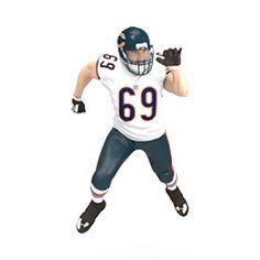 Football Legends Jared Allen - Chicago Bears  Hallmark Keepsake Ornament