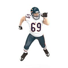 Football Legends Jared Allen - Chicago Bears  Hallmark Keepsake Ornament
