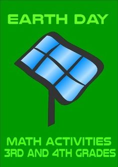 Earth Day Math Activity Book 3rd 4thThis Earth Day activity book has eight math activities that cover various areas of math.Activity 1: Vampire Power - comparing two families electricity use (multiplication, money)Activity 2: Recycle Profits - which is the best place to take your recyclables (multiplication, money)Activity 3: Shower Savers (ordering, multiplication, measurement)Activity 4: Solar Panels (area, perimeter, money)Activity 5: Electricity City (data and statistics)Activity 6: An…