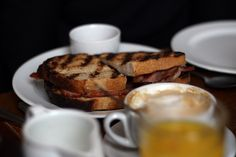 Breakfast at St John Bread & Wine at Spitalfields, London