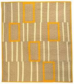 Orange Boxes - baby quilt by Etsy's Barbara Perrino.  Gorgeous!