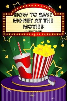 9 Ways to Save Money at The Movies. Great tips for saving money at the movies, especially during the holiday season. #savingmoney #movies