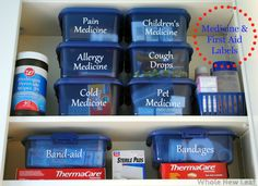 72 Best Labels images in 2016 | Organizing tips, Organizing