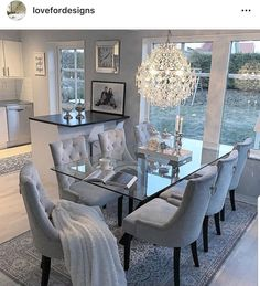 51 Minimalst Open Concept Kitchen And Dining Room Design Ideas kitchen Family Dining Rooms, Dining Room Table Decor, Living Room Decor Cozy, Elegant Dining Room, Luxury Dining Room, Dining Room Sets, Dining Room Design, Dining Room Furniture, Furniture Stores